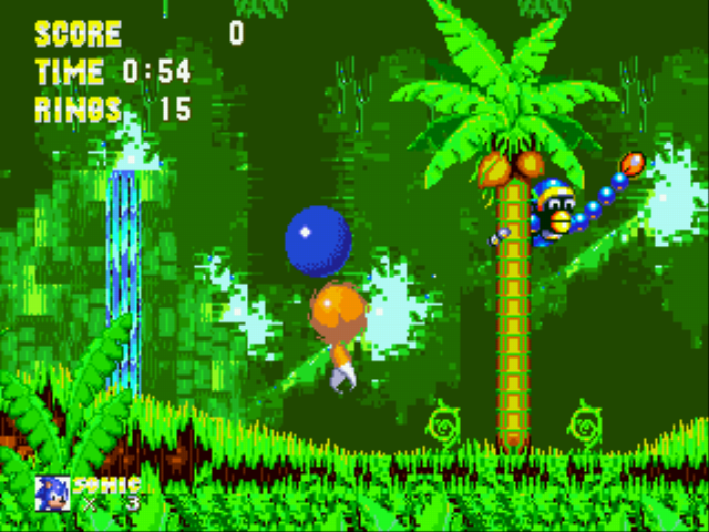 Sonic the Hedgehog 3 - I POO POOD TAILS! - User Screenshot